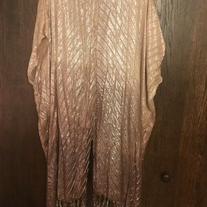 Free People Other - Free People Ombré Shimmer Kimono